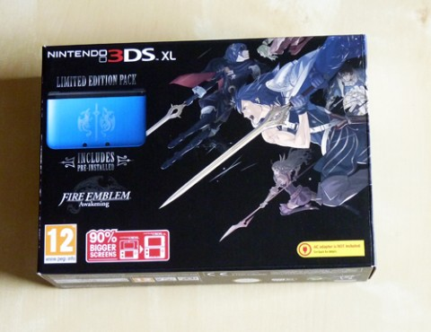 3DS XL Fire Emblem 3