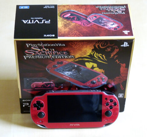 PS Vita Soul Sacrifice 2