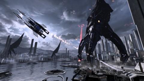 Mass Effect 3 Moissonneur