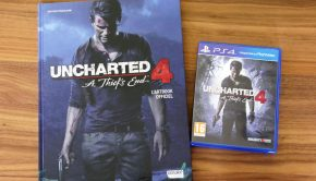 Artbook uncharted 4 et son jeu