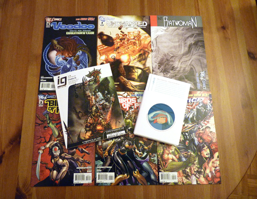 [Arrivage] Comics (Uncharted, Birds of Prey, Voodoo, Batwoman), livres et magazines