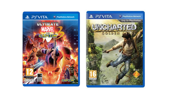 [Arrivage] Uncharted Golden Abyss et Ultimate Marvel vs Capcom 3 PS Vita