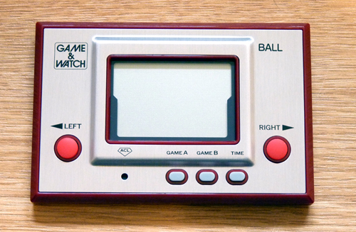 [Arrivage] Game and Watch Ball réedition Club Nintendo