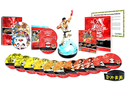 [Arrivage] Street Fighter édition collector 25e anniversaire