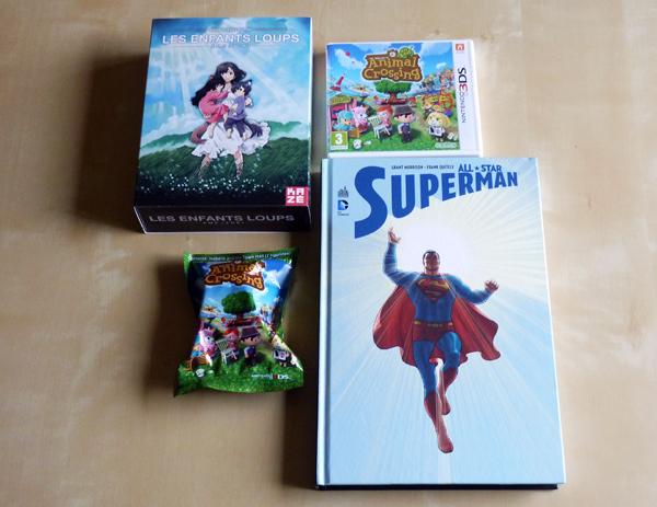 [Arrivage] Du super-héros, des jeux et un blu-ray