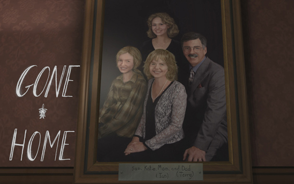 [J'ai joué à] Gone Home