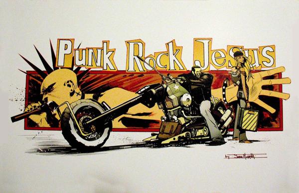 [J'ai lu] Punk Rock Jesus