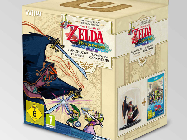 [Préco] Zelda The Wind Waker HD collector édition