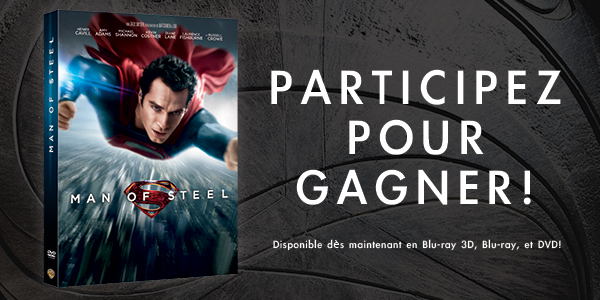 [Concours] Gagnez le Blu-Ray de Man of Steel