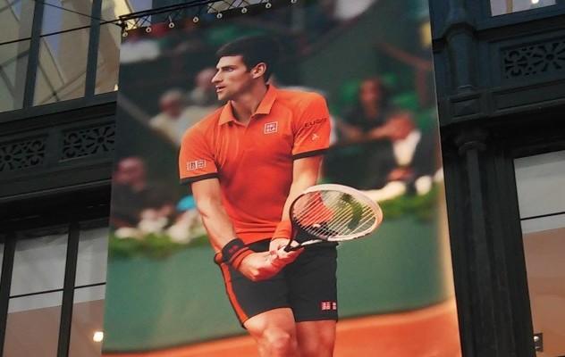 [Event] Djokovic en visite chez Uniqlo