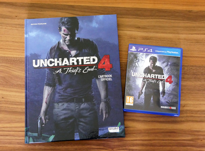 [Arrivage] Artbook uncharted 4